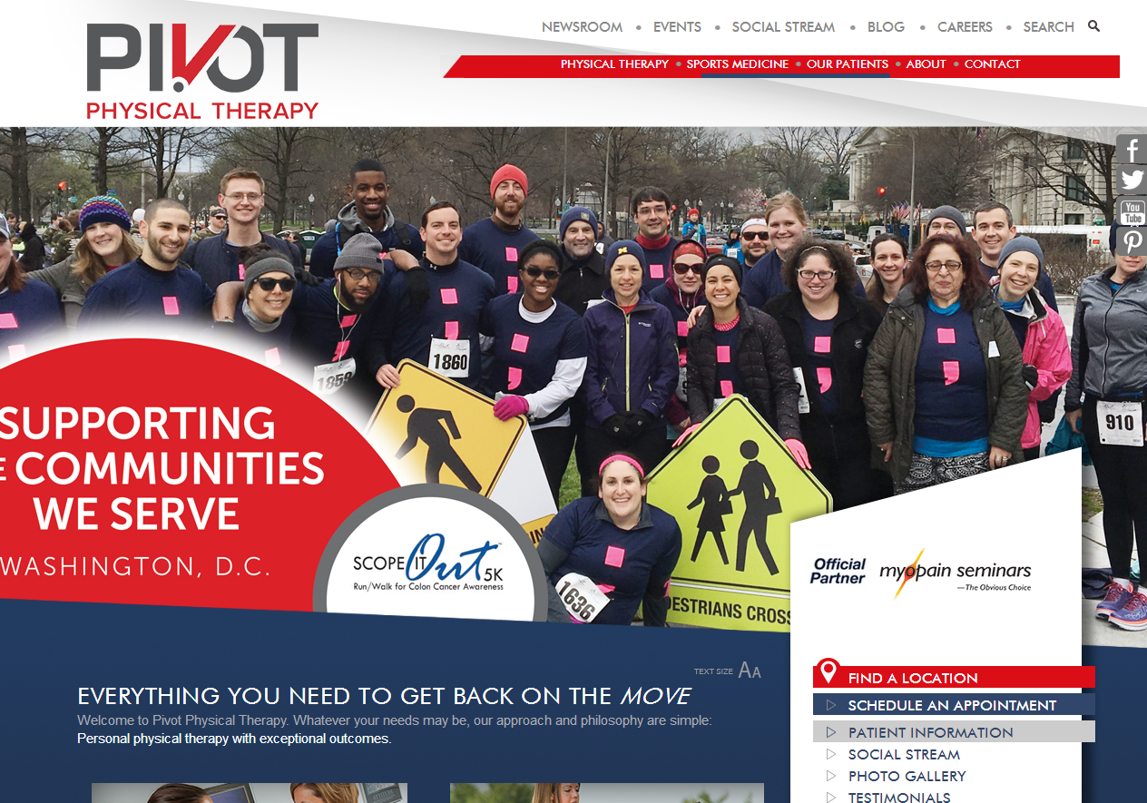 Citybizlist Washington Dc Pivot Physical Therapy Acquires Dynamic Physical Therapy